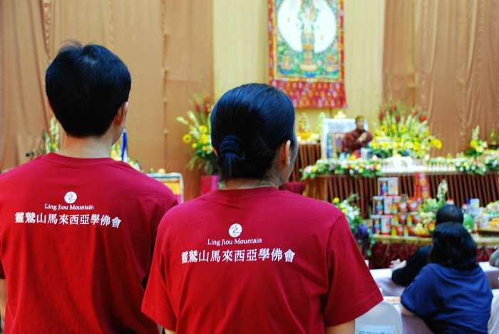 11靈鷲山的馬來西亞學佛會承辦這 一次的千人法會