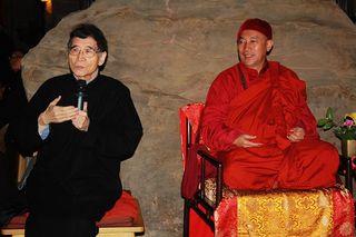 漢館長說,文化園區是心道法師的理想,也是我的理想